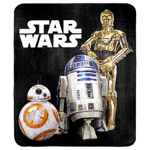 Star Wars C3Po R2D2 And Bb8 Throw *NEW*