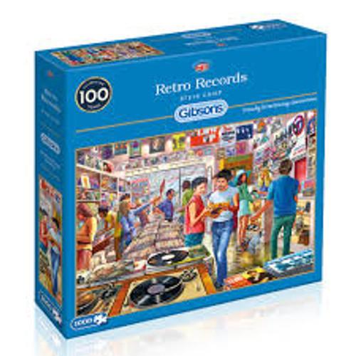 Retro Records 1000pc Jigsaw Puzzle *NEW*