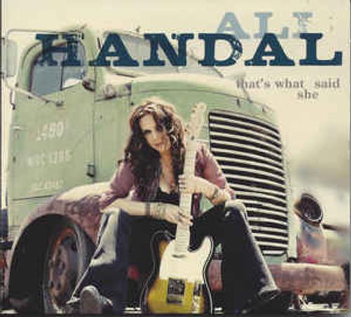 Ali Handal – That's What She Said - CD *NEW*