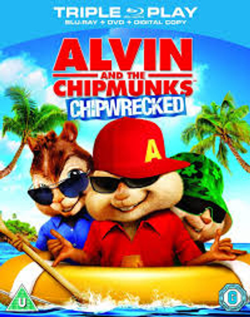 Alvin and the Chipmunks: Chipwrecked (Triple Play)- BRD *NEW*