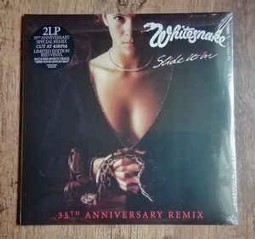 Whitesnake – Slide It In (35th Anniversary Remix) Red Vinyl - 2LP *NEW*