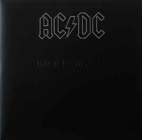 AC/DC ‎– Back In Black - LP *NEW*