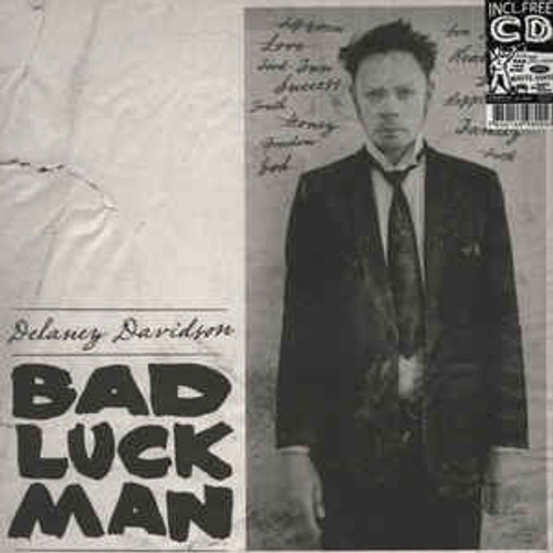Delaney Davidson - Bad Luck Man - LP/CD *NEW*