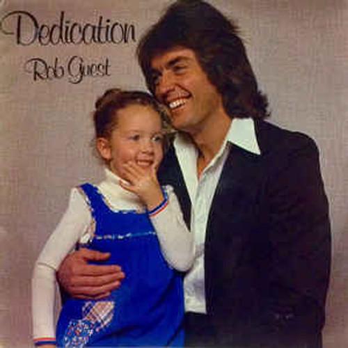 Rob Guest – Dedication (NZ) - LP *USED*