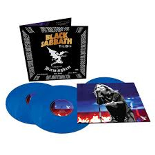 Black Sabbath - The End (Blue Vinyl) - 3LP *NEW*