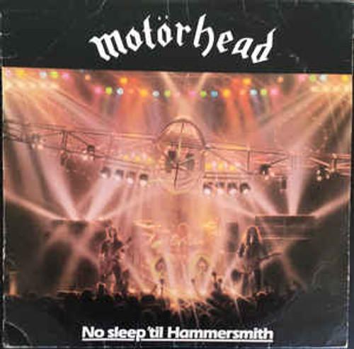 Motörhead – No Sleep 'til Hammersmith (NZ) - LP *USED*