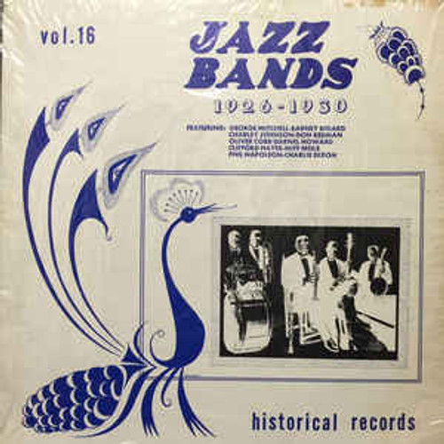 Jazz Bands 1926-1930 - Various (US) - LP *USED*