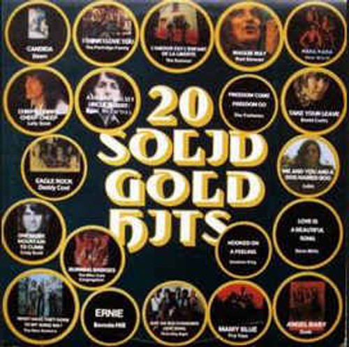 20 Solid Gold Hits (ORANGE LABEL) - Various - LP *USED*