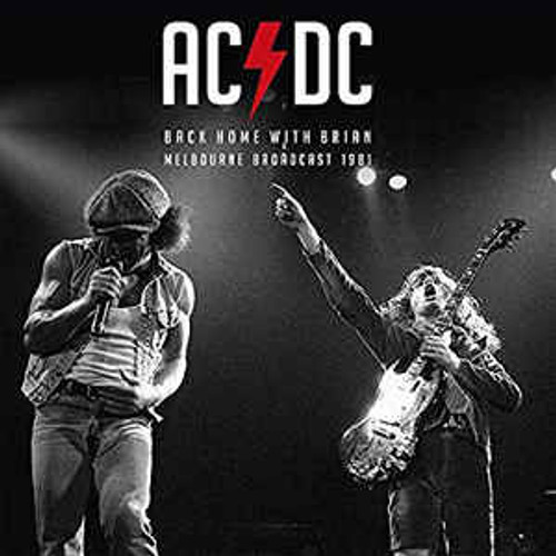 AC/DC ‎– Back Home With Brian Melbourne Broadcast 1981 - 2LP *NEW*