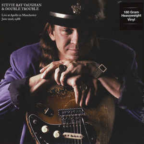 Stevie Ray Vaughan & Double Trouble – Live At Apollo In Manchester June 22nd, 1988 - LP *NEW*