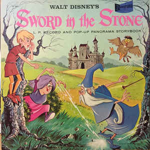Richard M. Sherman, Robert B. Sherman ‎– Walt Disney's The Sword In The Stone - LP *USED*