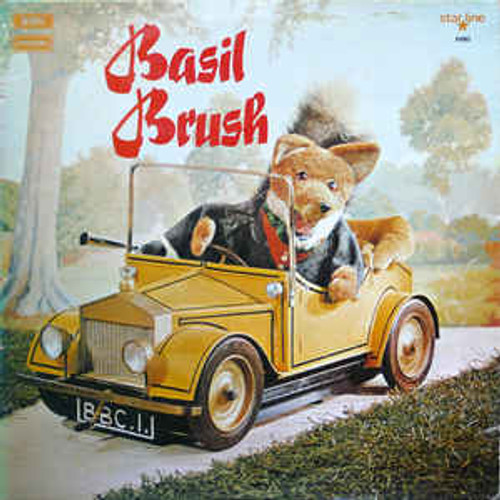 Basil Brush ‎– Basil Brush (NZ) - LP *USED*