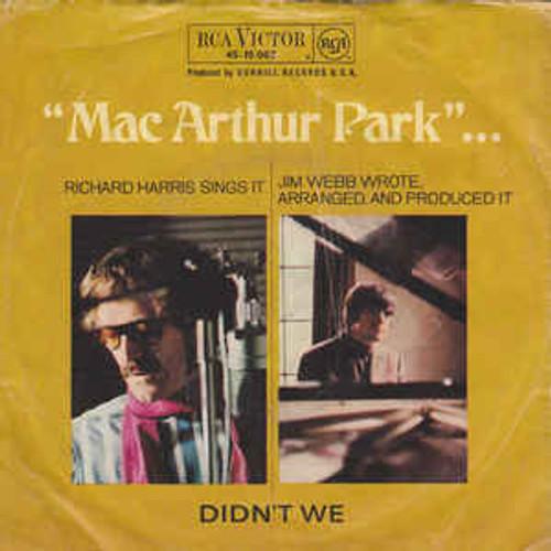 Richard Harris – Mac Arthur Park (GERMANY) - 7 *USED*