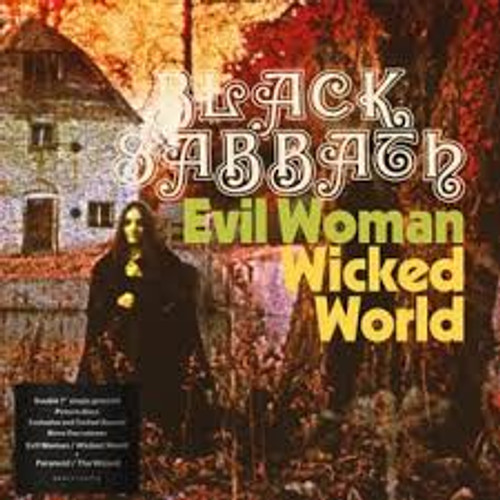 Black Sabbath - EVIL WOMAN, DON'T PLAY YOUR GAMES WITH ME / WICKED WORLD / PARANOID / THE WIZARD - 2EP *NEW* RSD 2020