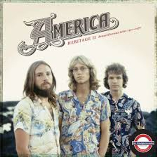America - HERITAGE II: DEMOS/ALTERNATE TAKES 1971–1976 - LP *NEW*  RSD 2020