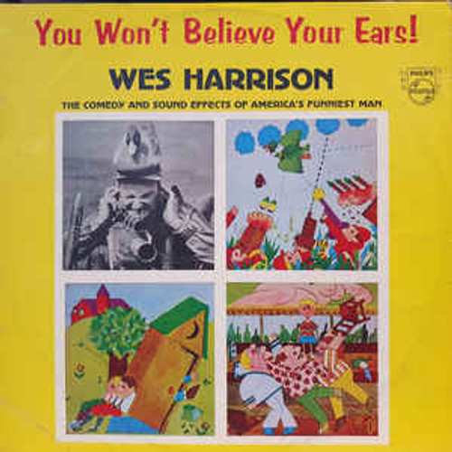 Wes Harrison – You Won't Believe Your Ears (NZ) - LP *USED*