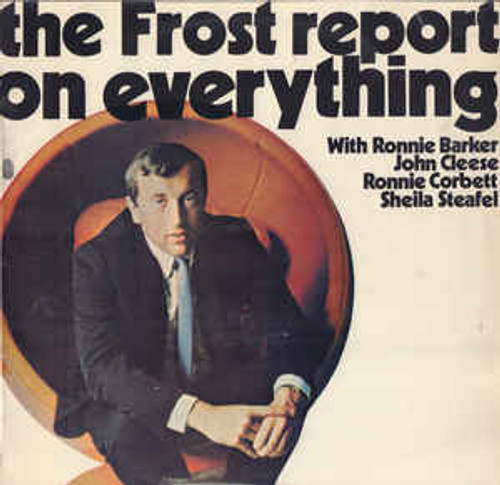 David Frost ‎– The Frost Report On Everything (NZ) - LP *USED*