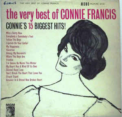 Connie Francis ‎– The Very Best Of Connie Francis (NZ) - LP *USED*