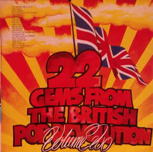 22 Gems From The British Pop Revolution Volume Two (NZ) - Various LP *USED*