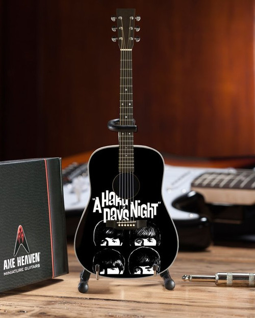 """Axe Heaven: """"A Hard Day's Night"""" Acoustic Guitar - (Fab Four) *NEW*"""