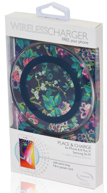 Wireless Charger Palm Floral *NEW*
