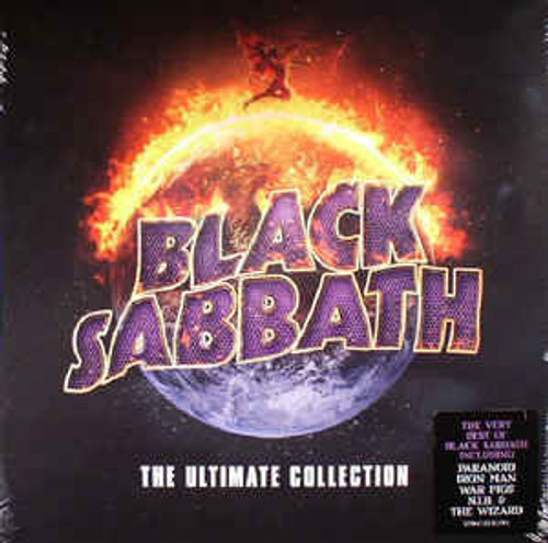 Black Sabbath ‎– The Ultimate Collection (Limited 50th Anniversary Edition) GOLD VINYL  - 4LP *NEW*