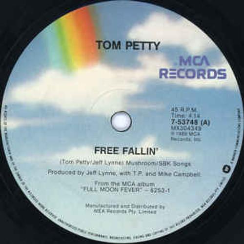 "Tom Petty – Free Fallin' (AU) - 7"" *USED*"