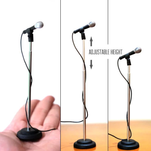 Axe Heaven: Microphone & Stand - (Adjustable Height) *NEW*