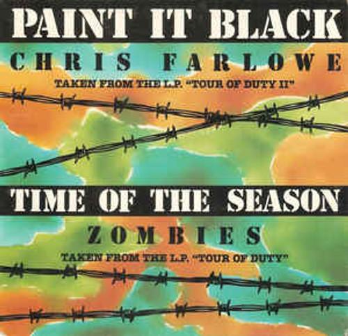 Zombies* / Chris Farlowe – Time Of The Season / Paint It Black (AU) - 7' *USED*