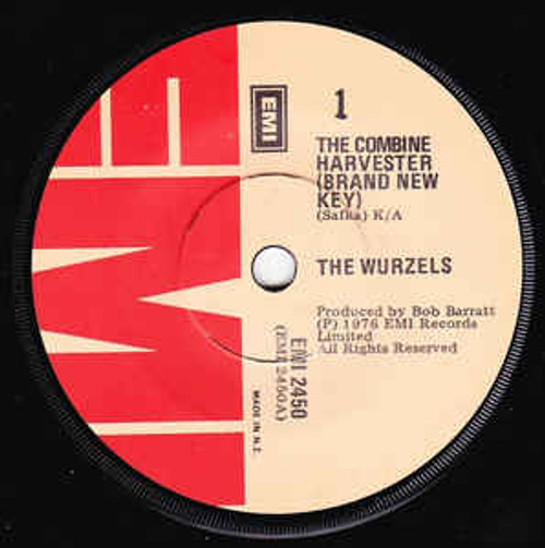 The Wurzels – The Combine Harvester (Brand New Key) (NZ) - 7' *USED*