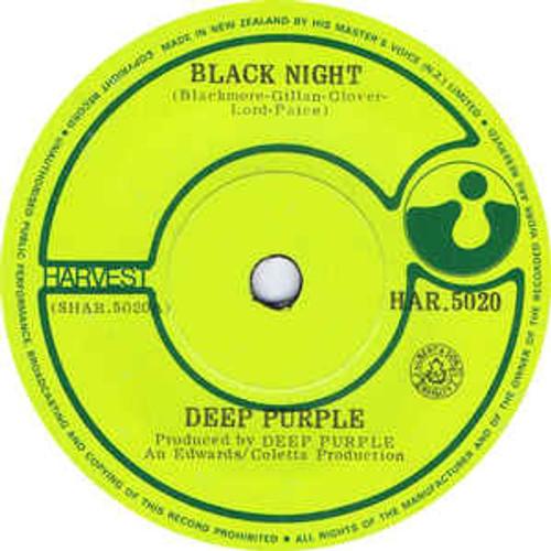 Deep Purple – Black Night (NZ) - 7' *USED*