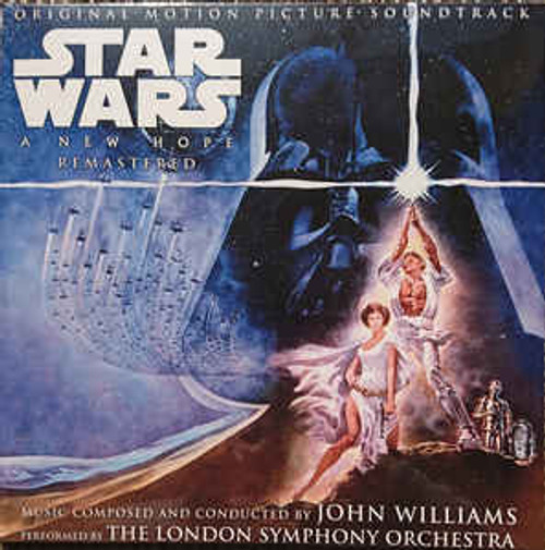 John Williams (4), The London Symphony Orchestra – Star Wars 'A New Hope' Original Motion Picture Soundtrack Remastered - 2LP *NEW*