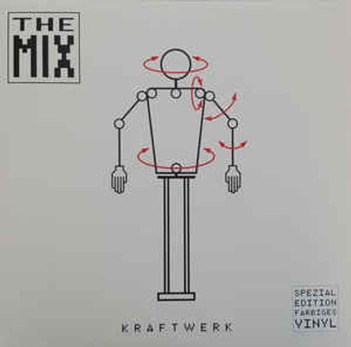 Kraftwerk – The Mix (White Vinyl) - 2LP *NEW*