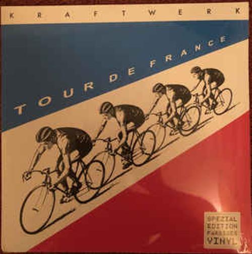Kraftwerk – Tour de France ( Double Translucent Blue And Red Vinyl) - 2LP *NEW*