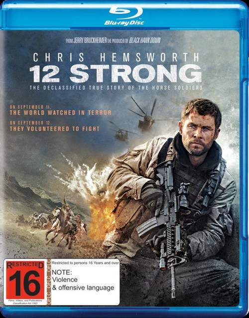 12 Strong (2018) - BRD *NEW*