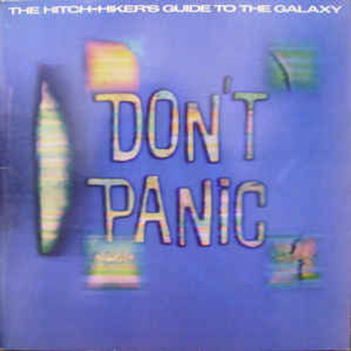 Douglas Adams – The Hitch-Hiker's Guide To The Galaxy (AU) - 2LP *USED*