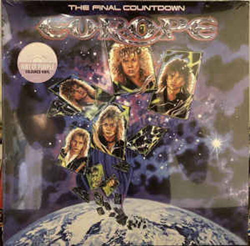 Europe (2) ‎– The Final Countdown ( Hint of Purple) - LP *NEW*