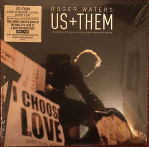 Roger Waters – Us + Them - 3LP *NEW*