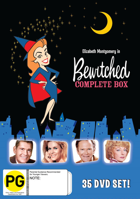 Bewitched The Complete Collection - 35DVD BOXSET *NEW*