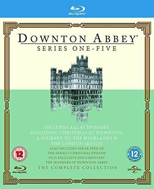 Downton Abbey Series 1-5 - 14BRD BOXSET *NEW*