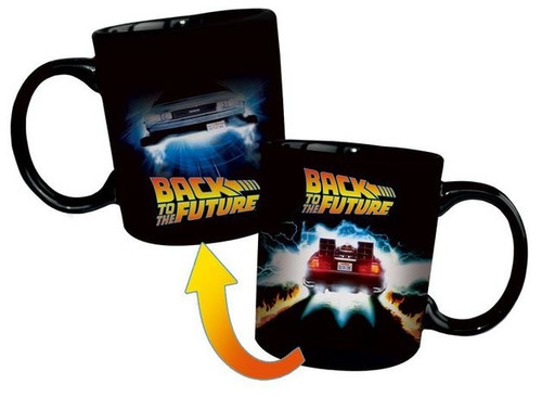 Back to the Future - Delorean Heat Changing Mug *NEW*