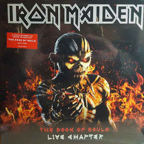 Iron Maiden ‎– The Book Of Souls: Live Chapter - 3LP *NEW*