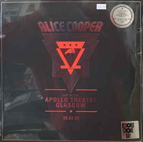 Alice Cooper (2) ‎– Live At The Apollo Theatre Glasgow 19.02.82 - 2LP *NEW* RSD 2020