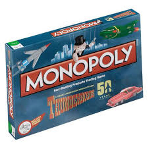 Monopoly Thunderbirds Retro 50th Anniversary Edition *NEW*