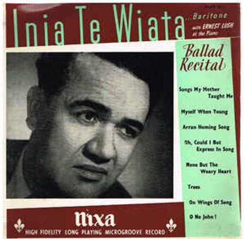 Inia Te Wiata – (Ballad Recital) A Song Recital - LP *USED*