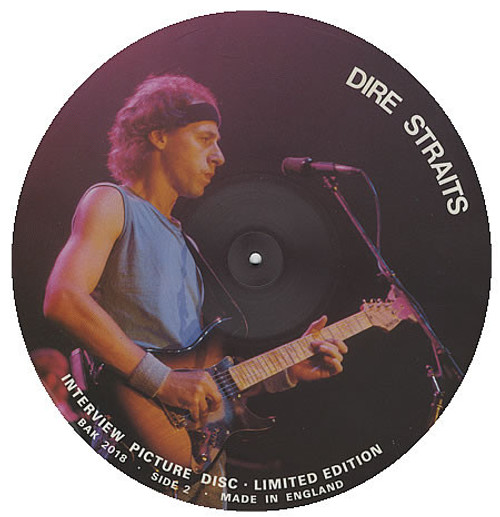 Dire Straits – Limited Edition Interview Picture Disc (UK0 - LP *USED*