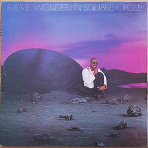 Stevie Wonder – In Square Circle (AUUSTRALASIA) - LP *USED*