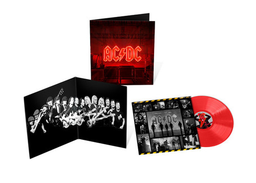 AC/DC - PWR/UP (Opaque Red Vinyl) - LP *NEW* (