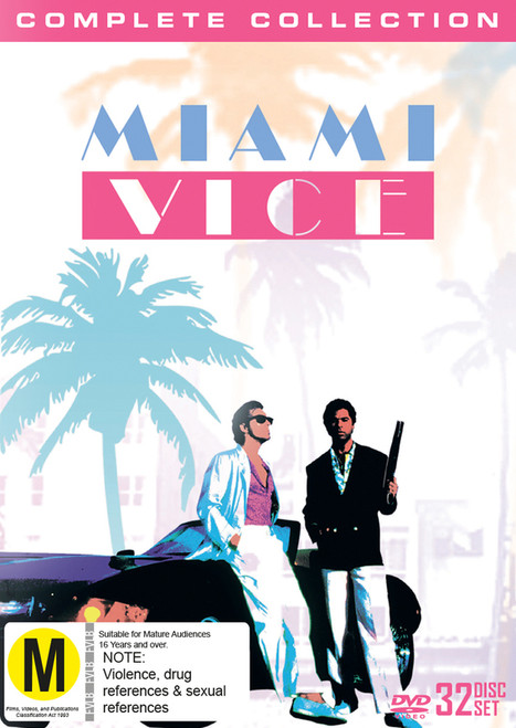 Miami Vice Complete Collection - 32DVD *USED*