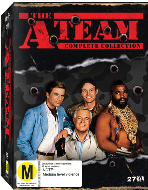 A Team Complete Collection - 27DVD *USED*
